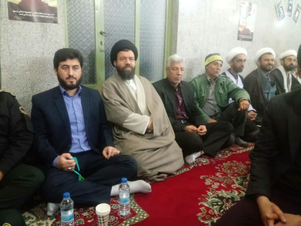 حضور شهردار و اعضاء شورای اسلامی شهردر تجمع بزرگ بسیجیان (شکوه اقتدار)
